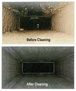 Air-Duct cleaning in EL Paso by KLEANFORCE